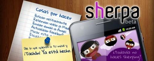 Sherpa, el asistente personal de Android