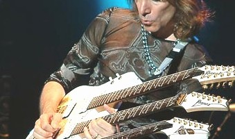 Steve Vai, o guitarrista imposible
