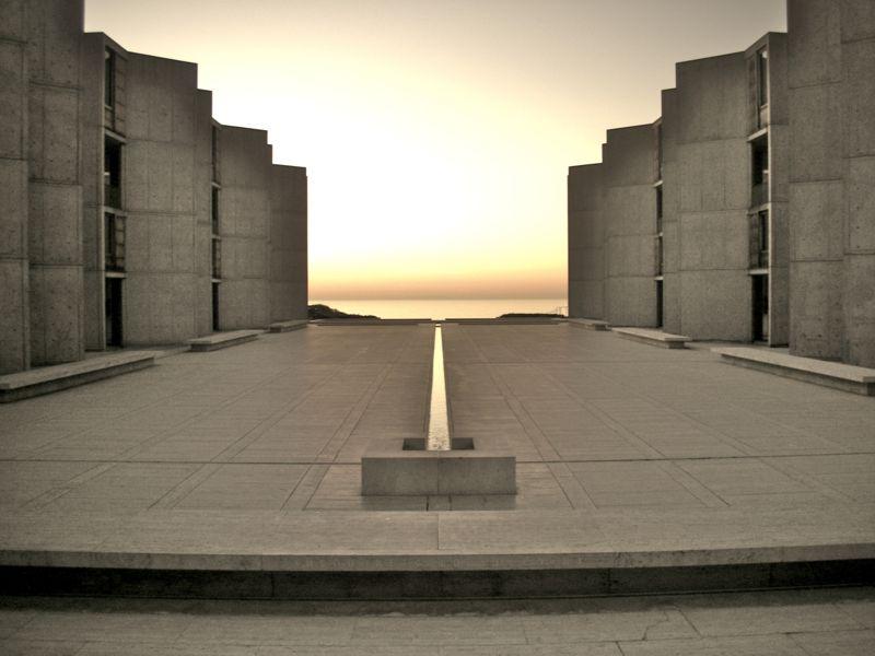 Salk Institute, Louis Kahn