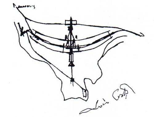 Primeros Bocetos de Brasilia