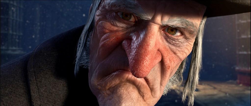 Ebenezer Scrooge visto por Walt Disney. Adorable, non si?