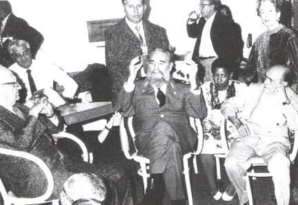 Fidel Castro y Oscar Niemeyer