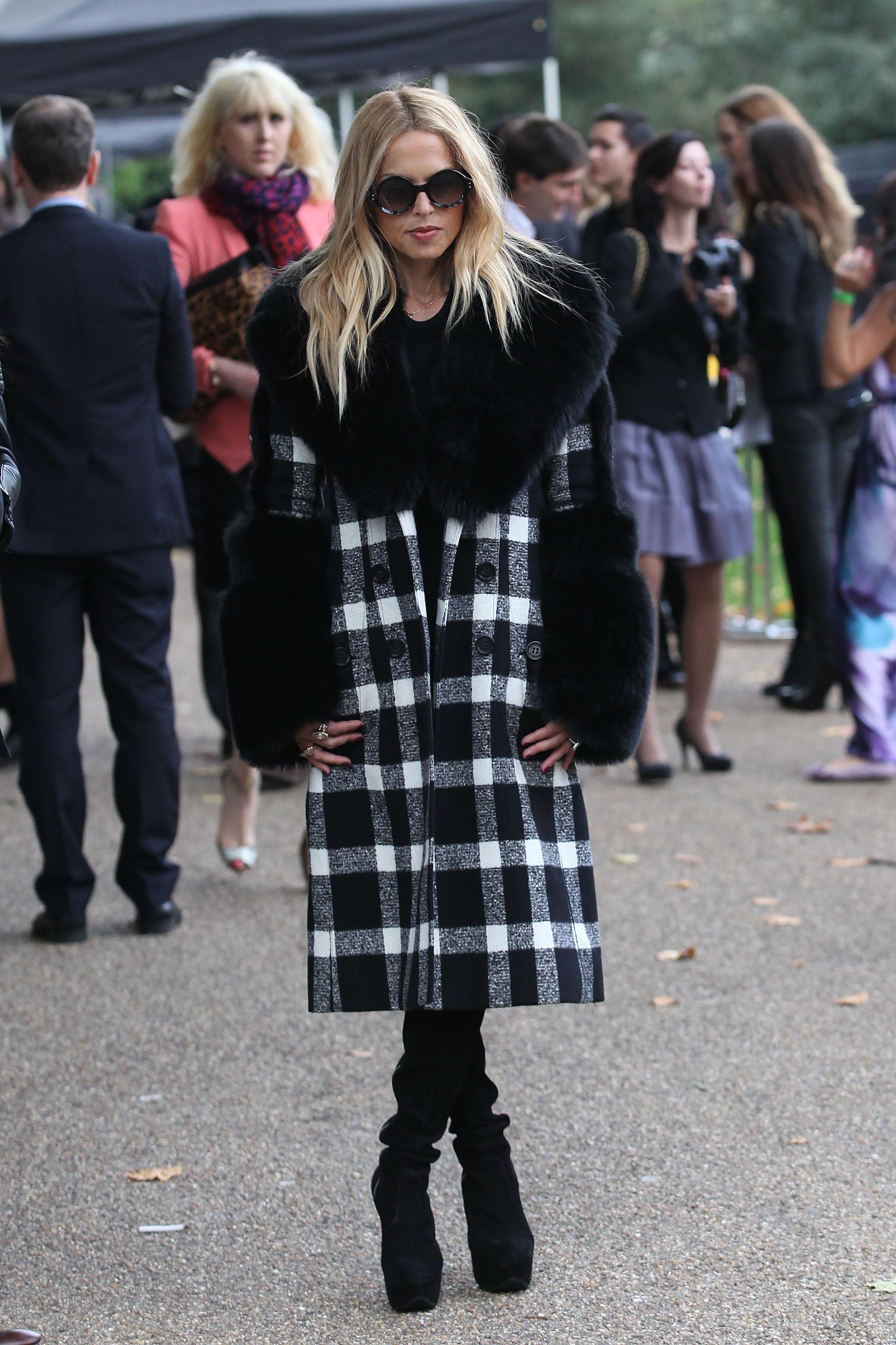 London Fashion Week S/S 2012 - Celebrity Sightings