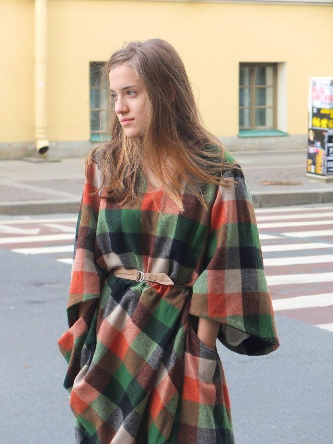 24 vestido tartán facehunter.blogspot.com