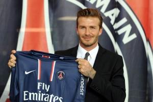 Beckham dará os seus últimos coletazos na cidade do Louvre, concretamente no PSG.