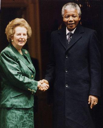 Thatcher apoiaba o Apartheid?