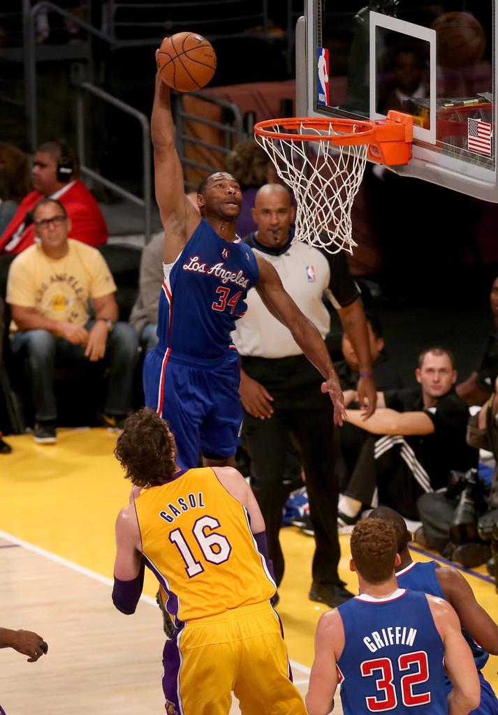 Green é actualmente unha figura fundamental no vestiario dos Clippers