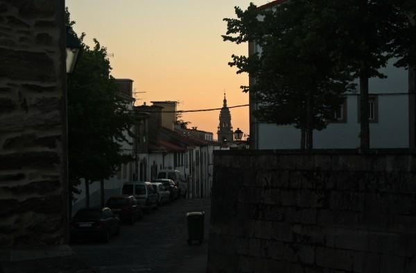 Vista da catedral desde a rúa do Rosario| ©Sara Yáñez