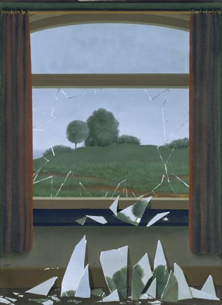 La Clef des Champs, René Magritte | © http://museothyssen.org