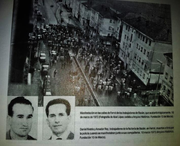 10 de marzo del 72. Ferrol