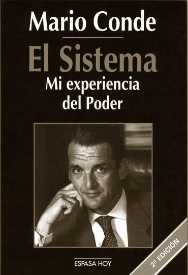 """Portada do libro """"El Sistema"""" de Mario Conde"""