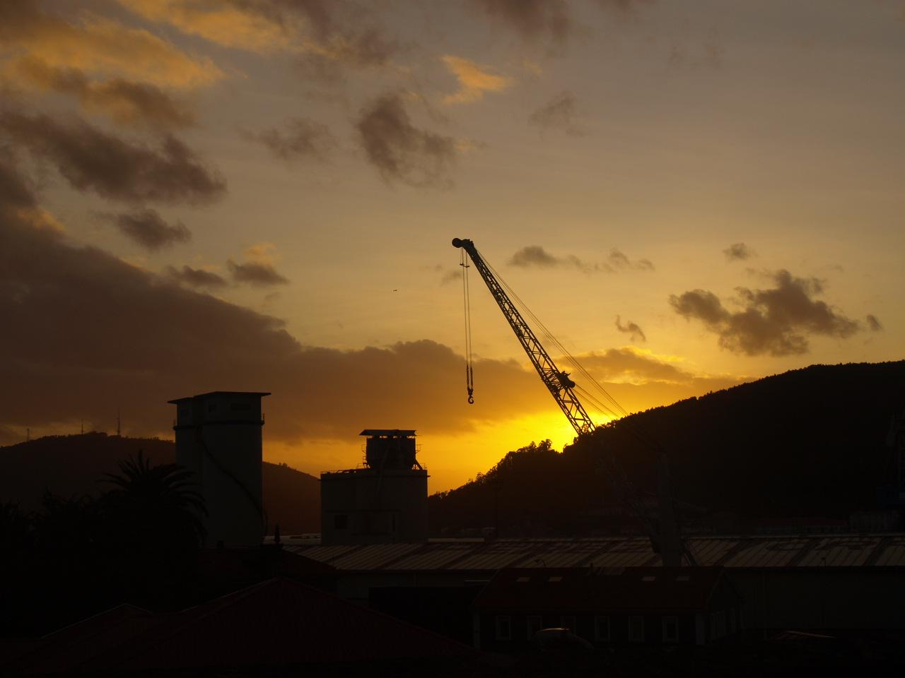 En el horizonte se encuentra A Graña y más allá San Felipe/ Irene Picallo Doce
