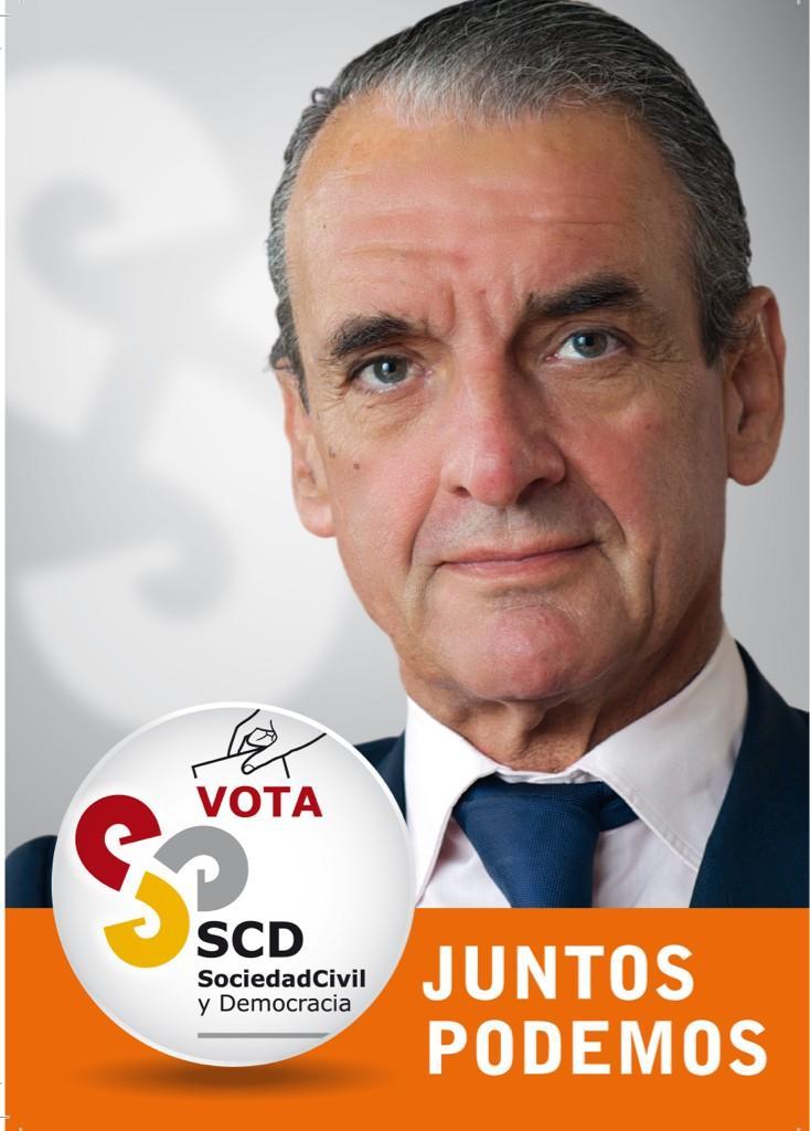 Cartaz electoral de SCD para as Eleccións 2012. | Imaxe: SCD