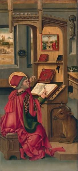 El evangelista San Lucas, Gabriel Mälesskircher   © http://museothyssen.org