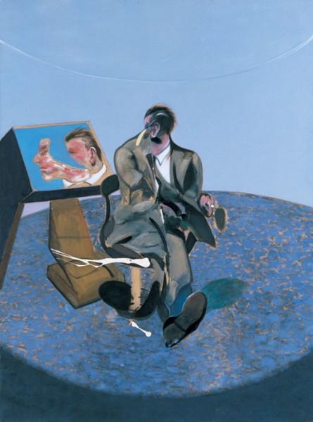 Retrato de George Dyer en el espejo, Francis Bacon   © http://museothyssen.org