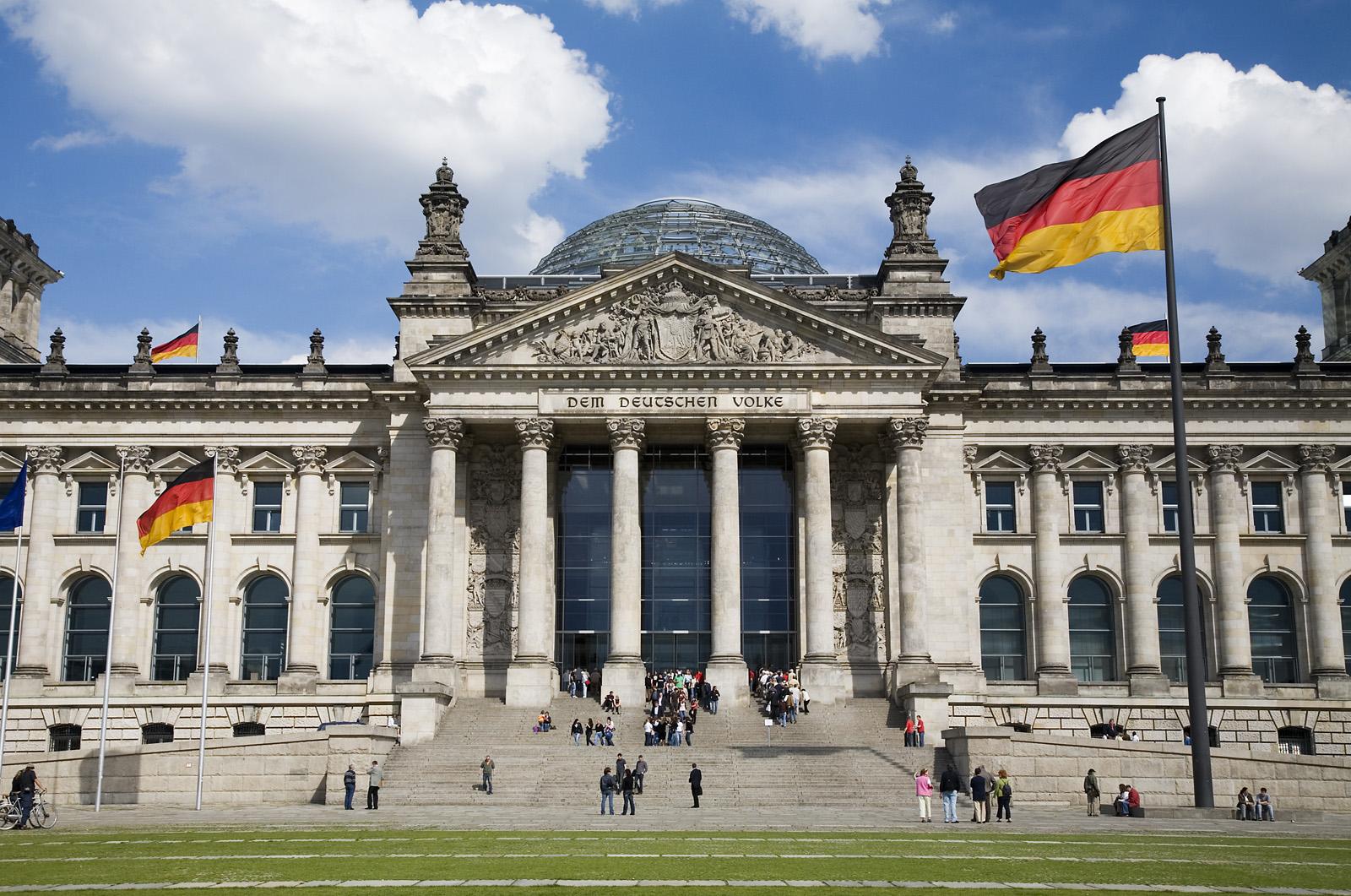 El edificio del Bundestag en Berlín, rediseñado por Norman Foster