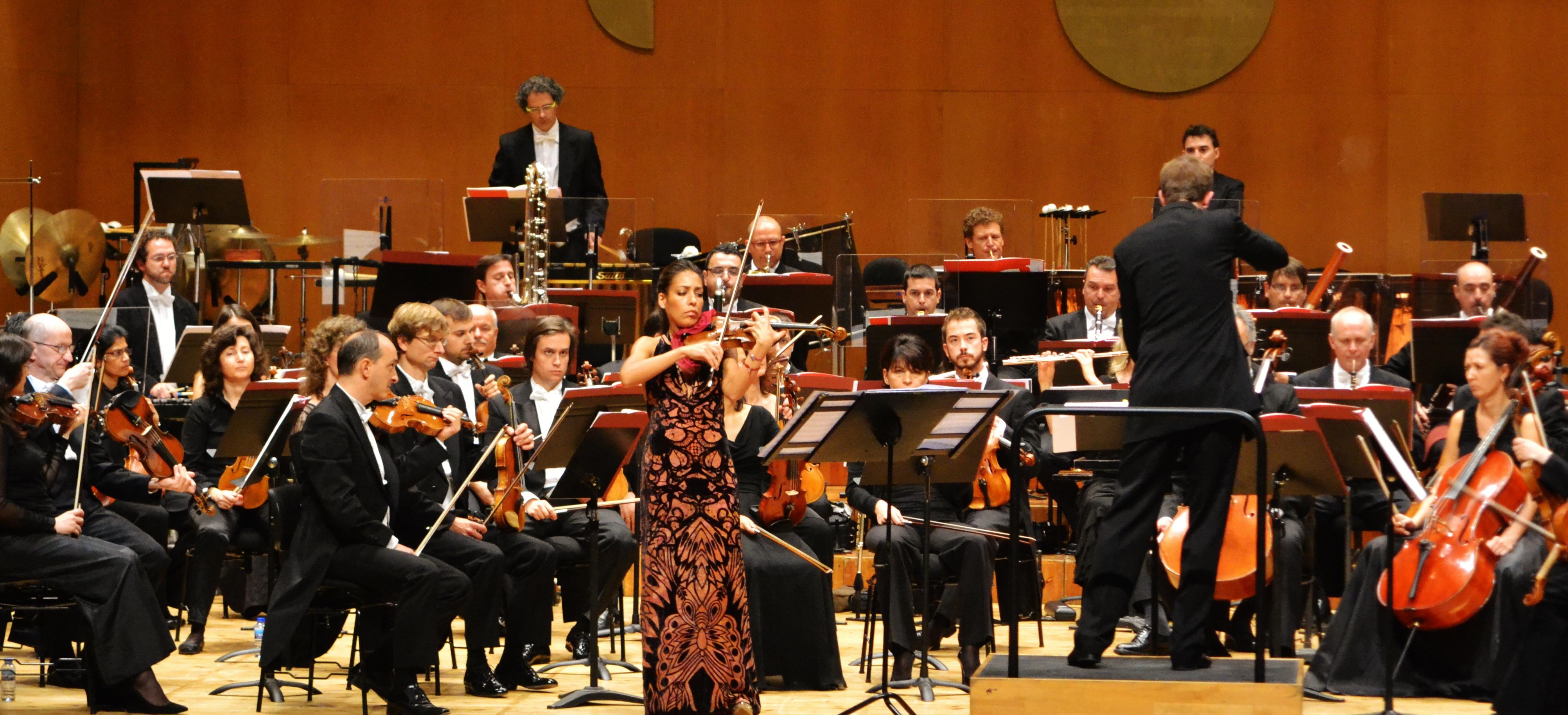 Leticia Moreno y Sinfónica de Galicia