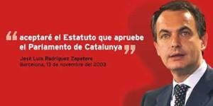 Aquela promesa perseguiría a Zapatero durante o resto da súa carreira política / 20 Minutos
