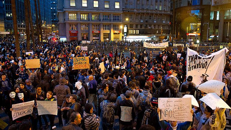 Protestas en Brasil - Google Images