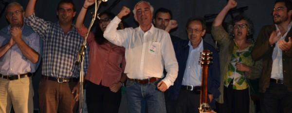A CDU fechando a campaña en Évora, unha das capitais de distrito recuperadasFonte: cduevora.wordpress.com