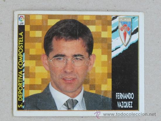 Fernando Vázquez, case igual que na actualidade