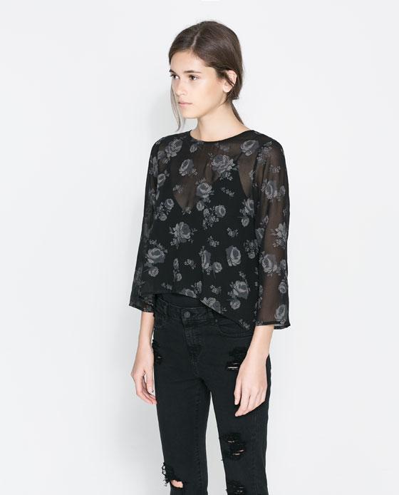 Transparente Zara
