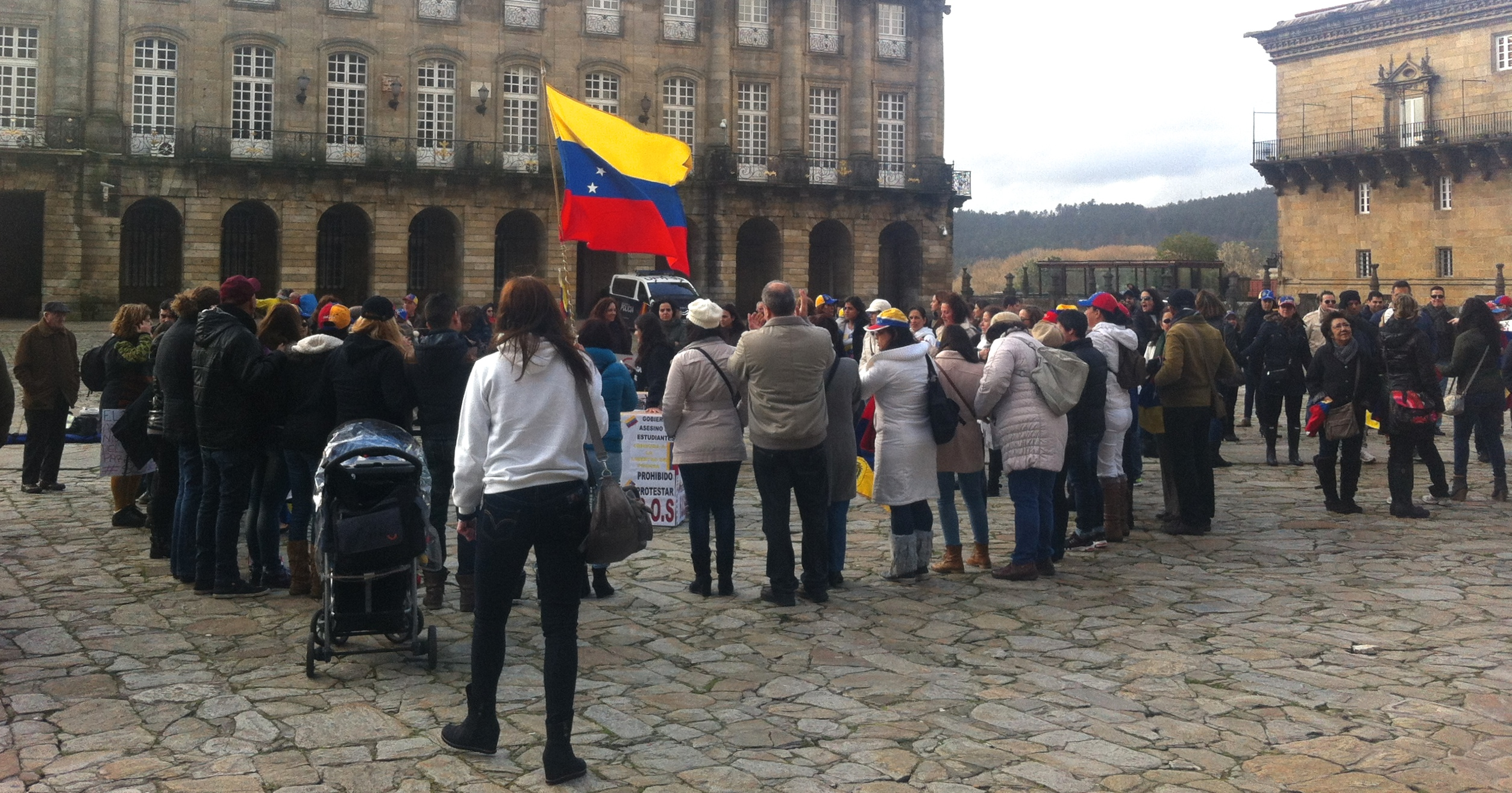 Manifestación Santiago