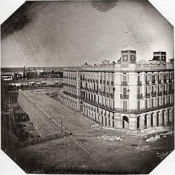 Primer_daguerrotipo_en_España,_Casa_Xifré,_1848