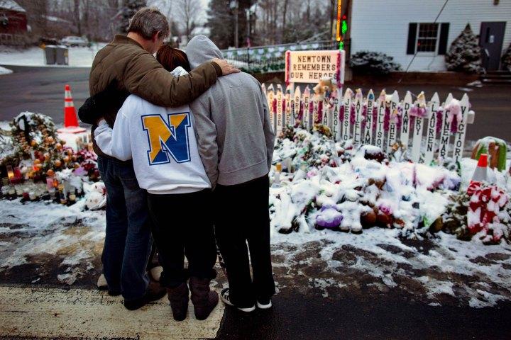 Homenaje a las víctimas del tiroteo del colegio Sandy Hook /