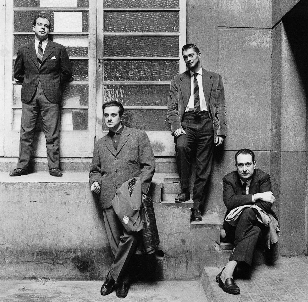 Gil de Biedma, Goytisolo, Carlos Barral y Castellet; la cara intelectual de la gauche | Oriol Maspons