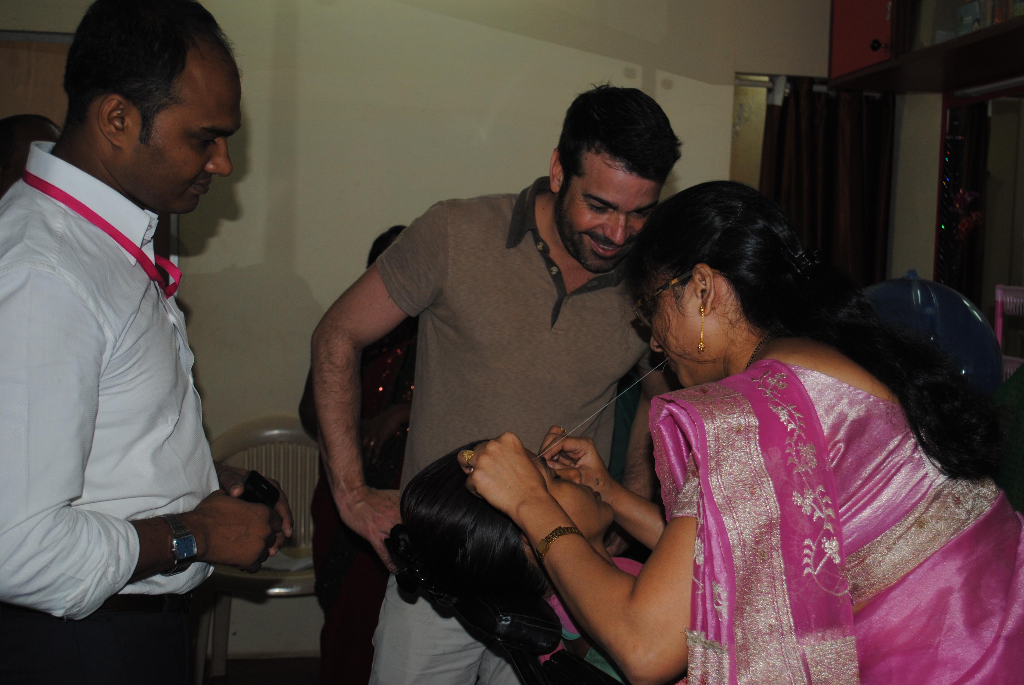 Foto: Sonrisas de Bombay. Proxecto SEED.