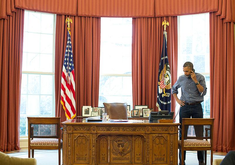 Obama habla con Putin