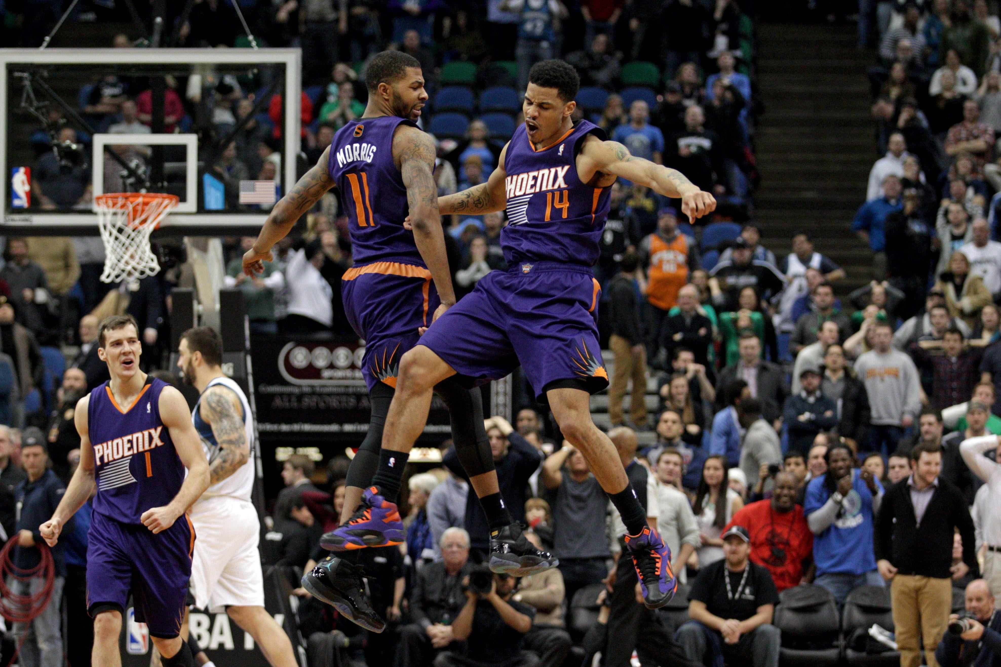 Markieff Morris y Gerald Green, catalizadores del cambio | © USA TODAY Sports