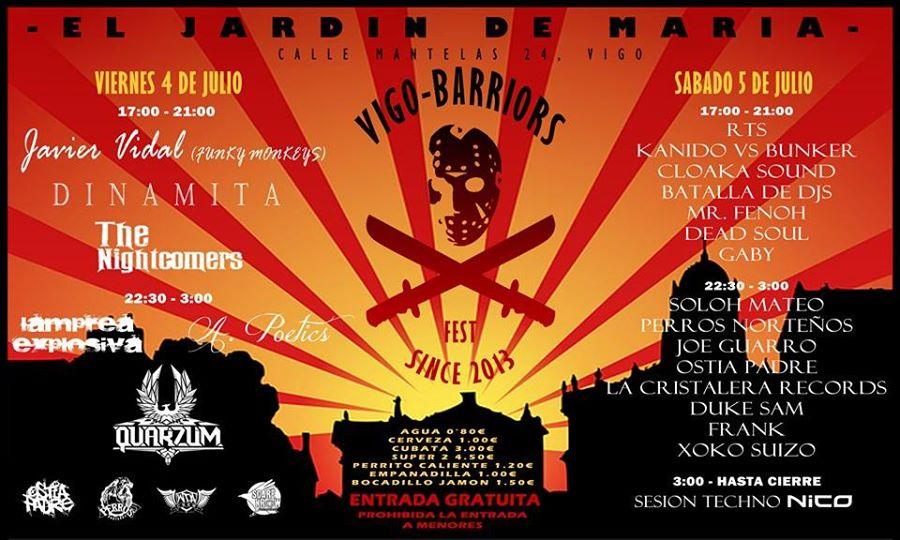 16 Vigo Warriors