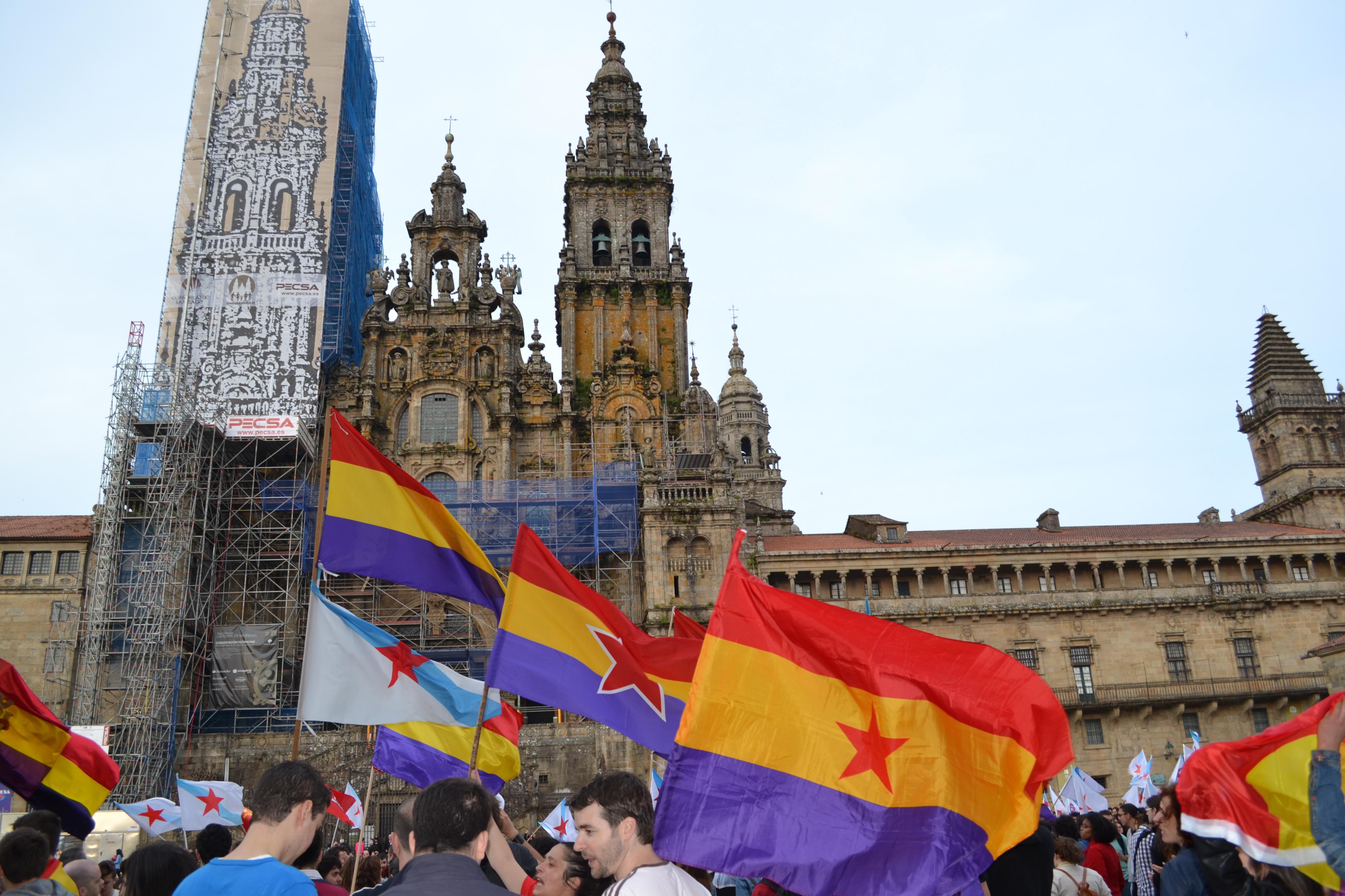 Manifestación en la Praza do Obradoiro el pasado 2 de junio | ©Andrea Oca
