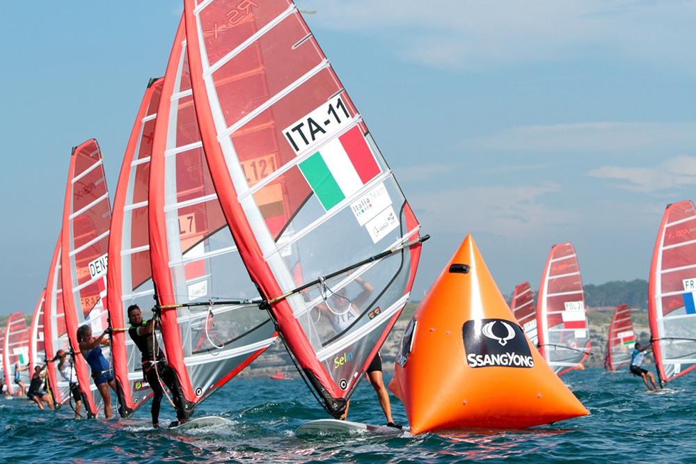 Imagen del Campeonato del Mundo de vela que se está disputando en Santander. Sacada de santander2014.com