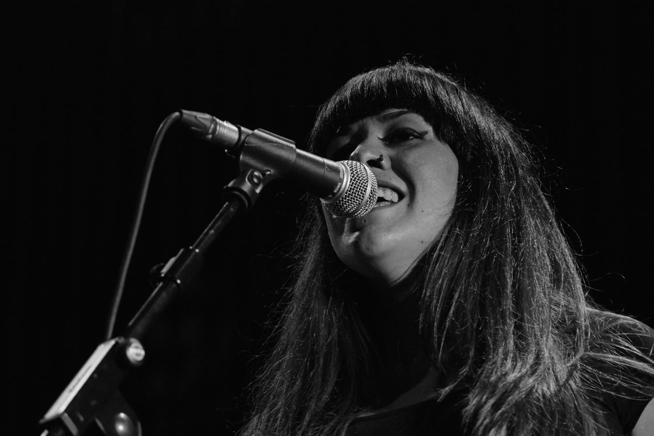 © Andrea Espiñeira Sabela Rey, vocalista de The Lákazans.