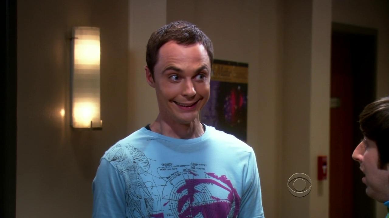 Sheldon Cooper siendo Sheldon Cooper gracias a Jim Parsons.
