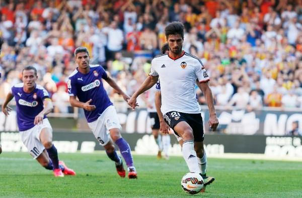 André Gomes está siendo una de las sensaciones de este inicio liguero / Foto: Valencia CF
