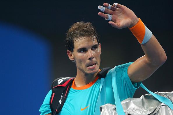 La dolorosa derrota de Nadal en Basilea ante Borna Coric cerró su temporada (Foto: Chris Hyde / Getty Images).