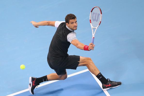 El búlgaro Dimitrov logró en este 2014 una mayor estabilidad en su juego (Foto: Feng Li / Getty Images).