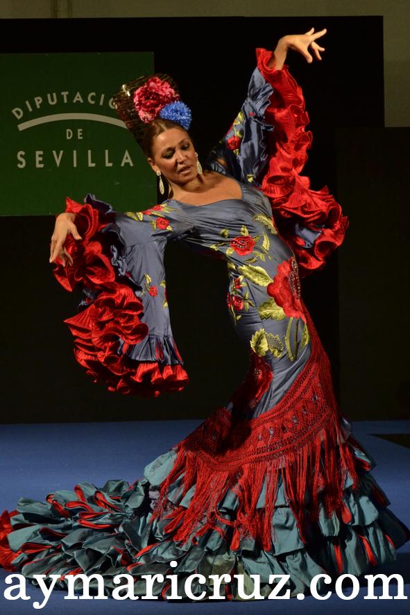 Imagen de la Moda Flamenca hecha en la provincia de Sevilla |  © ¡Ay Maricrú!