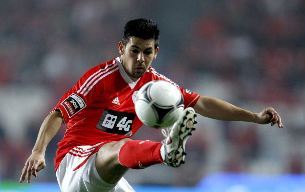 Nolito nas súas dúas tempadas co Benfica - ©AS