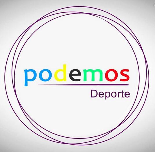 El Círculo Podemos Deporte se encarga exclusivamente de la elaboración de este programa | Fuente: @PodemosDeporte
