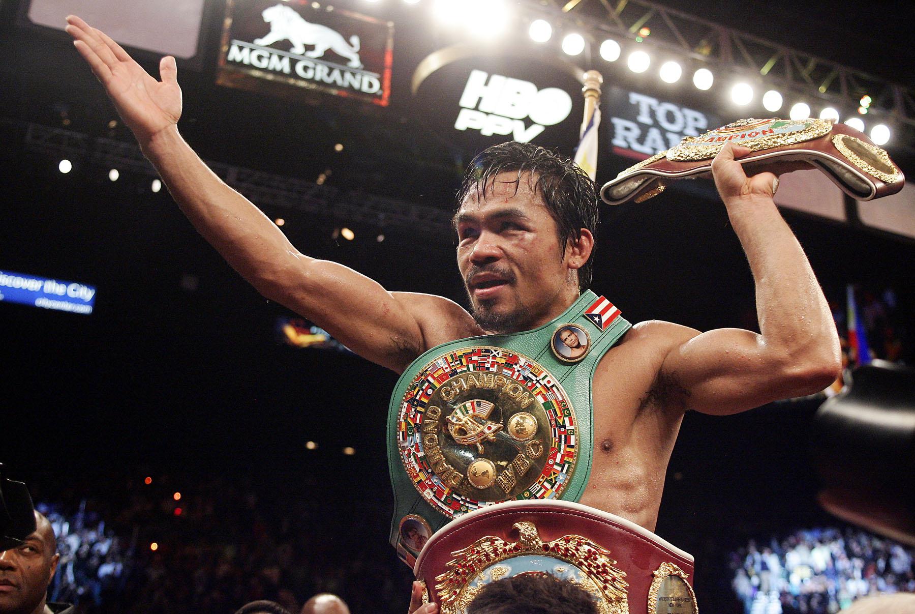 El diablo tagallo, Manny Pacquiao. Sacada de 15rounds.com