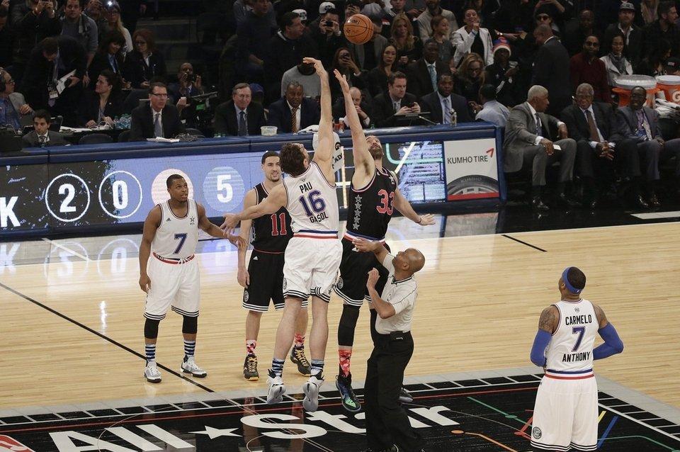 El salto entre los Gasol, el momento histórico de este All Star en Nueva York - @La Vanguardia