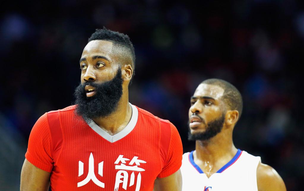 El futuro de la franquicia pende de la barba de Harden | Fuente: Scott Halleran, Getty Images