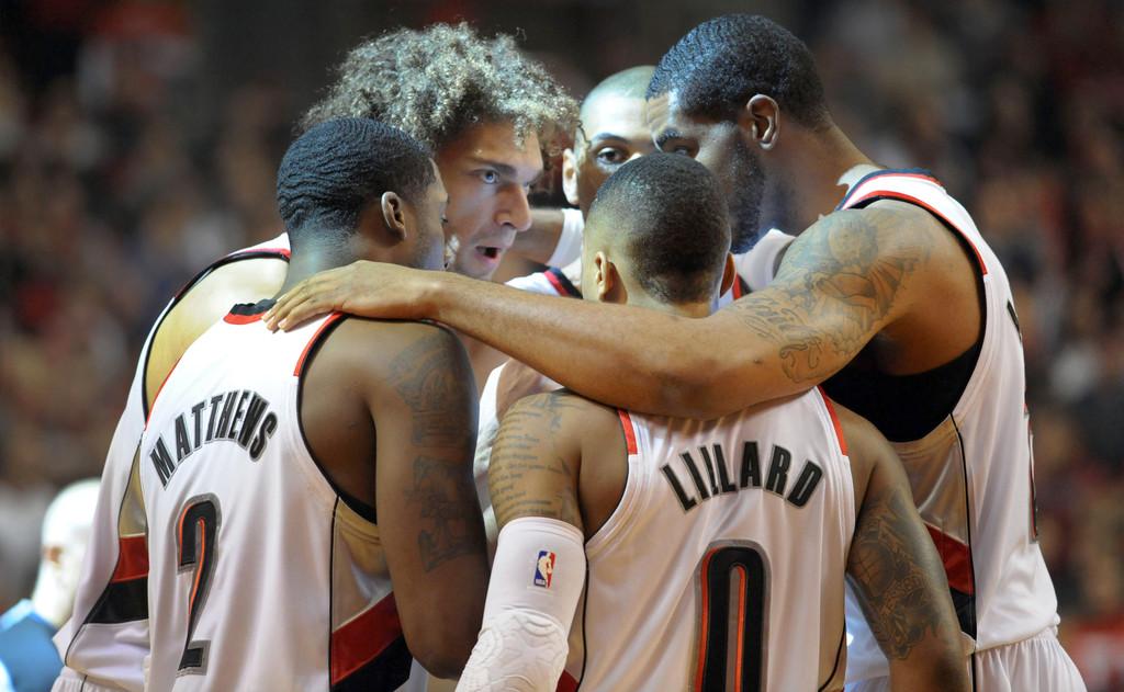 El quinteto que más minutos juega de la NBA ha perdido a una pieza clave: Wesley Matthews | Fuente: Steve Dykes, Getty Images