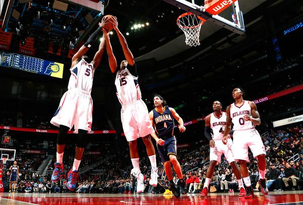 Los Atlanta Hawks son la definición de la palabra 'equipo'. | Fuente: Kevin C. Cox, Getty Images.
