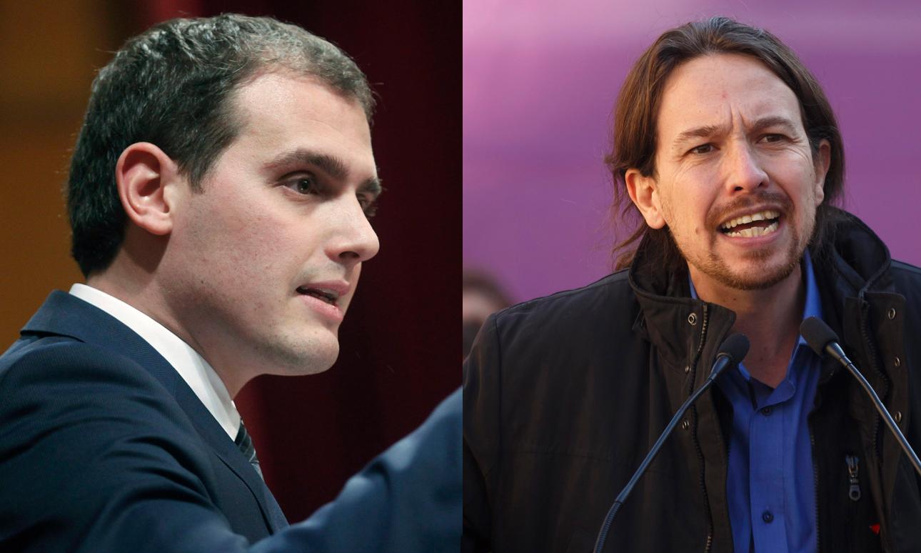 Dos líderes que han conseguido hacer saltar por los aires el bipartidismo | Fuente: Libertad Digital